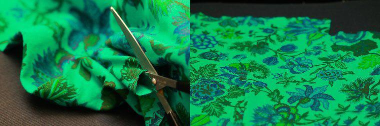 DIY坐墊方法圖解 如何用布手工縫制海綿坐墊 3