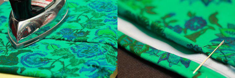 DIY坐墊方法圖解 如何用布手工縫制海綿坐墊 4