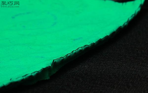 DIY坐墊方法圖解 如何用布手工縫制海綿坐墊 5