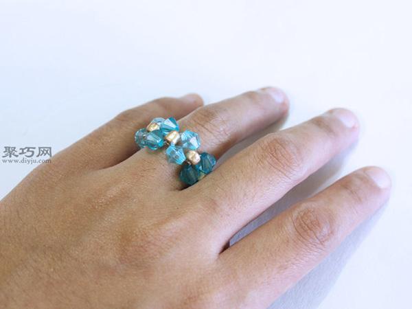 diy串珠戒指教程图解 教你如何制作戒指