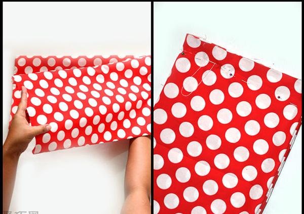自制蝴蝶結發飾教程圖解 教你如何DIY蝴蝶結布藝頭飾 5