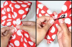 自制蝴蝶結發飾教程圖解 教你如何DIY蝴蝶結布藝頭飾
