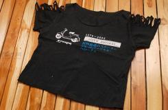 如何DIYt恤衫改露臍裝 舊衣服改造時尚裝步驟圖解