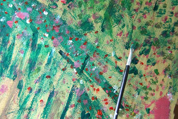 如何画好一副水彩抽象画的花 抽象画怎么画 8