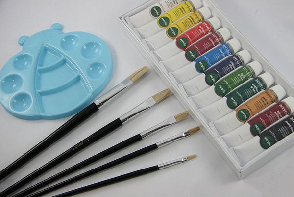 如何画好一副水彩抽象画的花 抽象画怎么画 3