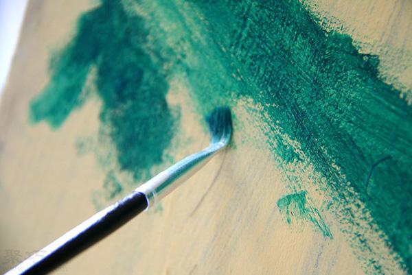 如何画好一副水彩抽象画的花 抽象画怎么画 6