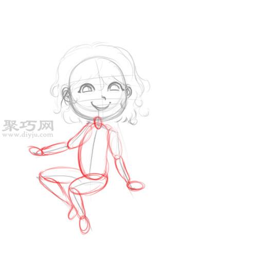 漫画卡通小魔女的画法 教你如何画小女巫 4 30