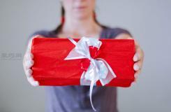 礼物包装之绸带多层花结打法 丝带怎么打多层蝴蝶结