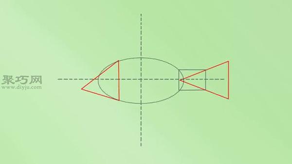 画小鱼步骤图解 教你怎么画简单又真实的鱼