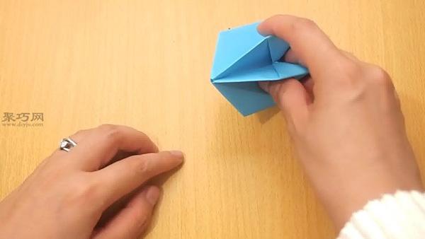 手工折纸气球图解教程 教你如何折叠立体纸气球