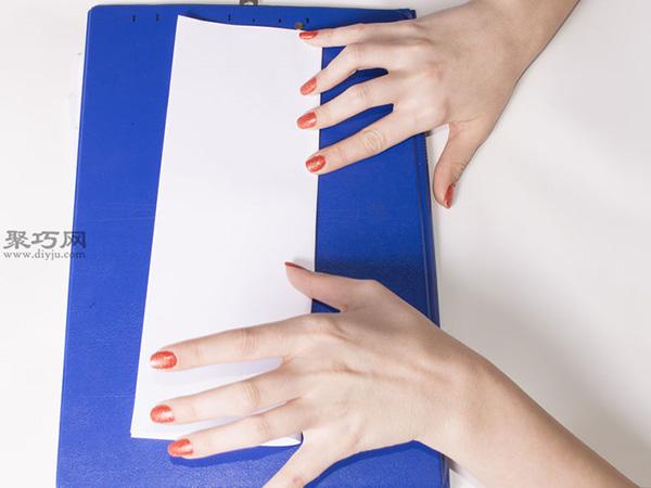 超级简单纸灯笼的做法步骤 儿童手工制作纸灯笼教程 2
