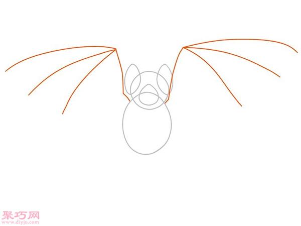 蝙蝠怎么画更逼真 13
