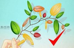 创意树叶怎么画 如何手绘创意叶子