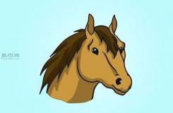畫馬頭步驟圖解 教你怎么畫簡單又真實的馬頭