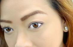畫眉毛的技巧圖解 教你如何正確描眉