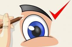画卡通眼睛教程图解 教你简笔画卡通眼睛的画法
