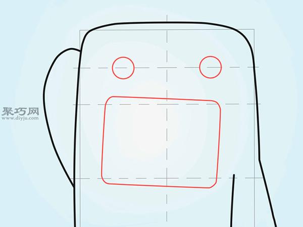 怎样画快乐的卡通多摩君 手绘各种表情多摩君作品大全