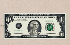 美元鈔票怎么畫 畫一美元鈔票詳細步驟