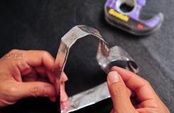 铝箔纸DIY创意饼干模具做法 怎么自制饼干模具