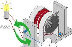 如何DIY简易发电机教程 科学实验制作发电机