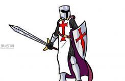 中世纪骑士怎么画 教你中世纪骑士的画法