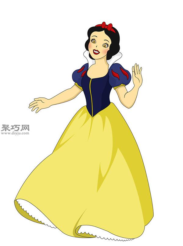 怎样画迪士尼公主 手绘迪士尼公主作品大全 7