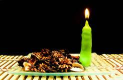 DIY创意锥形蜡烛方法 家居漂亮蜡烛手工制作方法