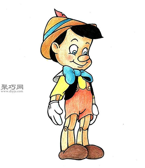 怎样画迪士尼卡通人物 手绘迪士尼卡通人物作品大全 6