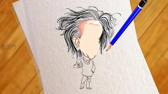 漫畫人物的畫法步驟詳解