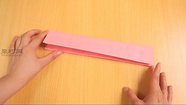 3D立体三角插折纸折叠教程图解 三角插怎么折