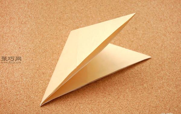 星星盒子折法图解 四角小礼品盒如何折叠 2