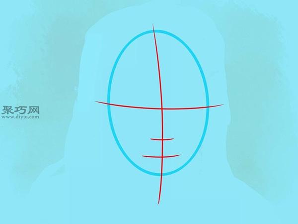 如何画美国说唱歌手李尔韦恩肖像画 2