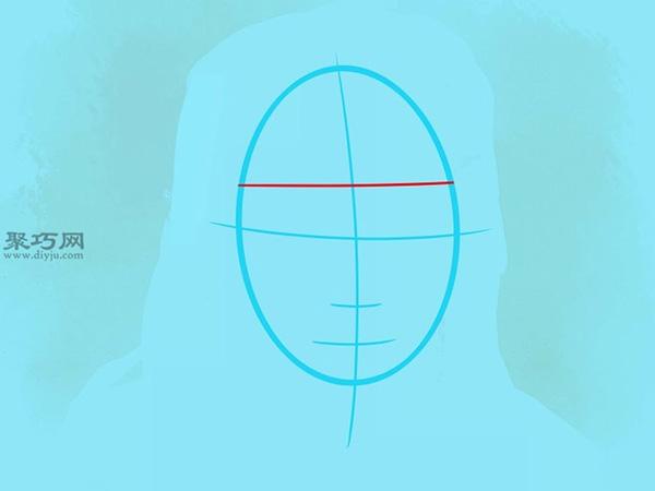 如何画美国说唱歌手李尔韦恩肖像画 3