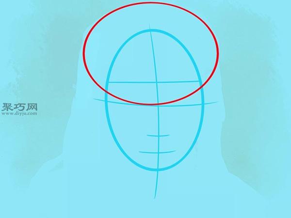 如何画美国说唱歌手李尔韦恩肖像画 4