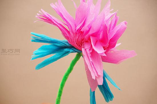 墨西哥碎纸花手工制作教程 DIY纸花饰品步骤详解 9