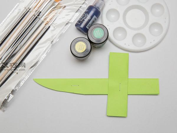 最簡單折紙刀子的方法 5步學會如何折水果刀 9