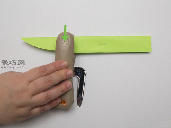 最簡單折紙刀子的方法 5步學會如何折水果刀 6