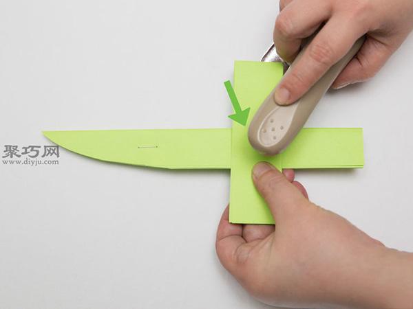 最簡單折紙刀子的方法 5步學會如何折水果刀 8
