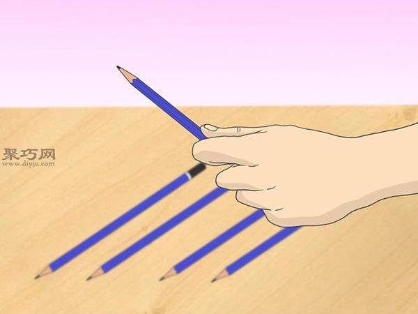 怎样画出一幅好画 铅笔素描猫的画法步骤 2