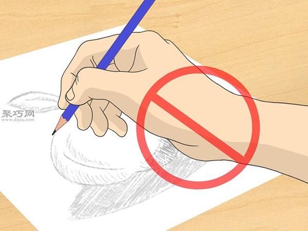 怎样画出一幅好画 铅笔素描猫的画法步骤 6