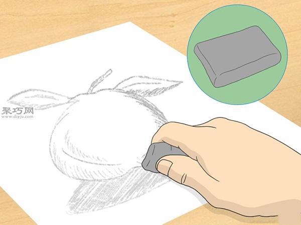 怎样画出一幅好画 铅笔素描猫的画法步骤 7