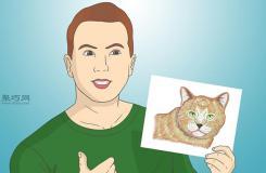 怎样画出一幅好画 铅笔素描猫的画法步骤