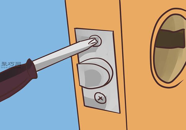 門把手更換方法 手把手教你拆卸安裝門把手 5
