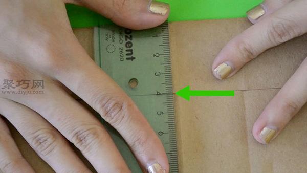 舊日歷包書皮方法步驟 教你如何用廢舊紙包書皮 6