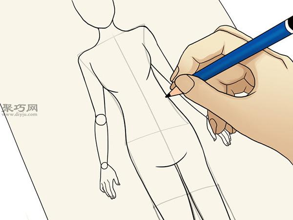 服装设计师总结的画时装草图详细步骤图解