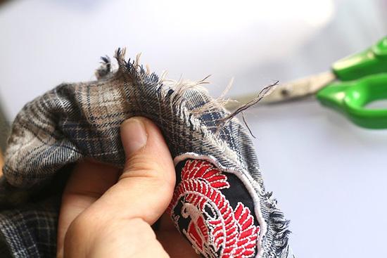 旧衣服DIY僵尸服装教程详解 教你僵尸道具服制作步骤 4