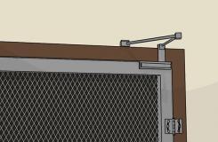 自己安装纱门方法步骤 纱门安装技巧