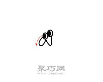 螳螂简笔画的画法步骤1