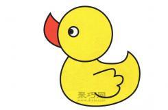 很少人知道的卡通大黃鴨簡筆畫畫法,原來鴨子還可以這樣畫!