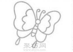 蝴蝶��P��的��法步�E4